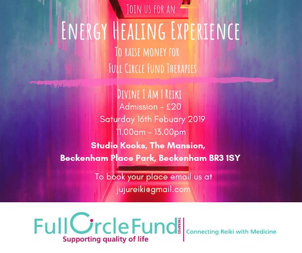 a0469a621883b Energy Healing Experience with Chantelle Blackwood - Beckenham Place ...