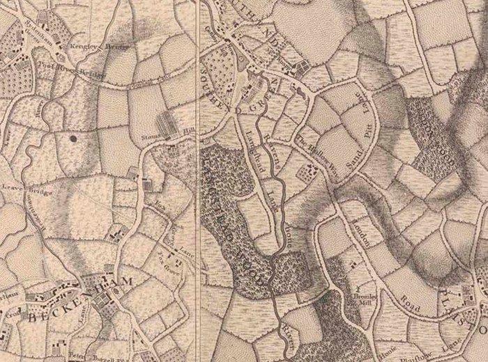 Rocque's Map